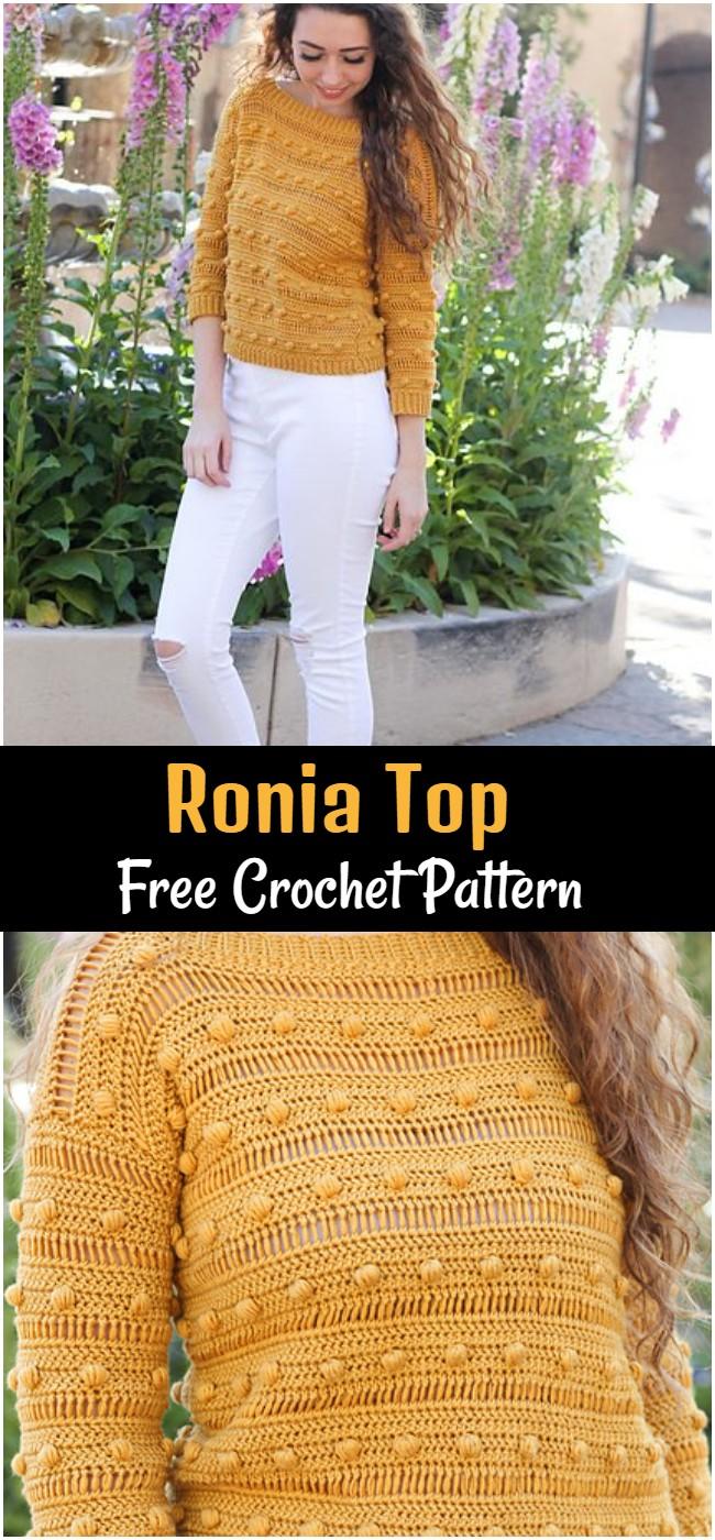 Crochet Ronia Top Pattern