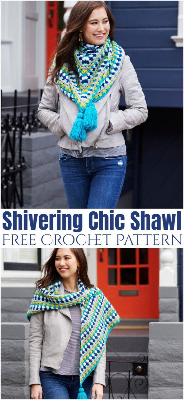 Crochet Shivering Chic Shawl