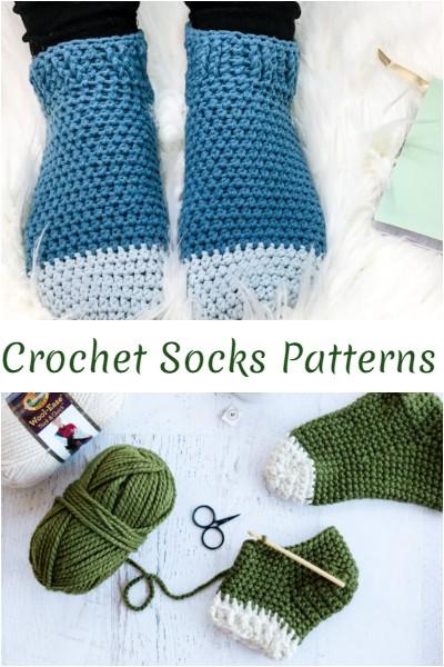 Crochet Socks Patterns