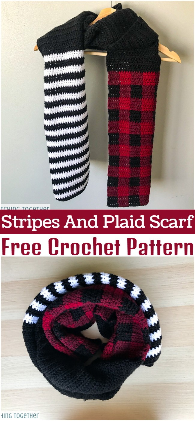Stripes And Plaid Pattern
