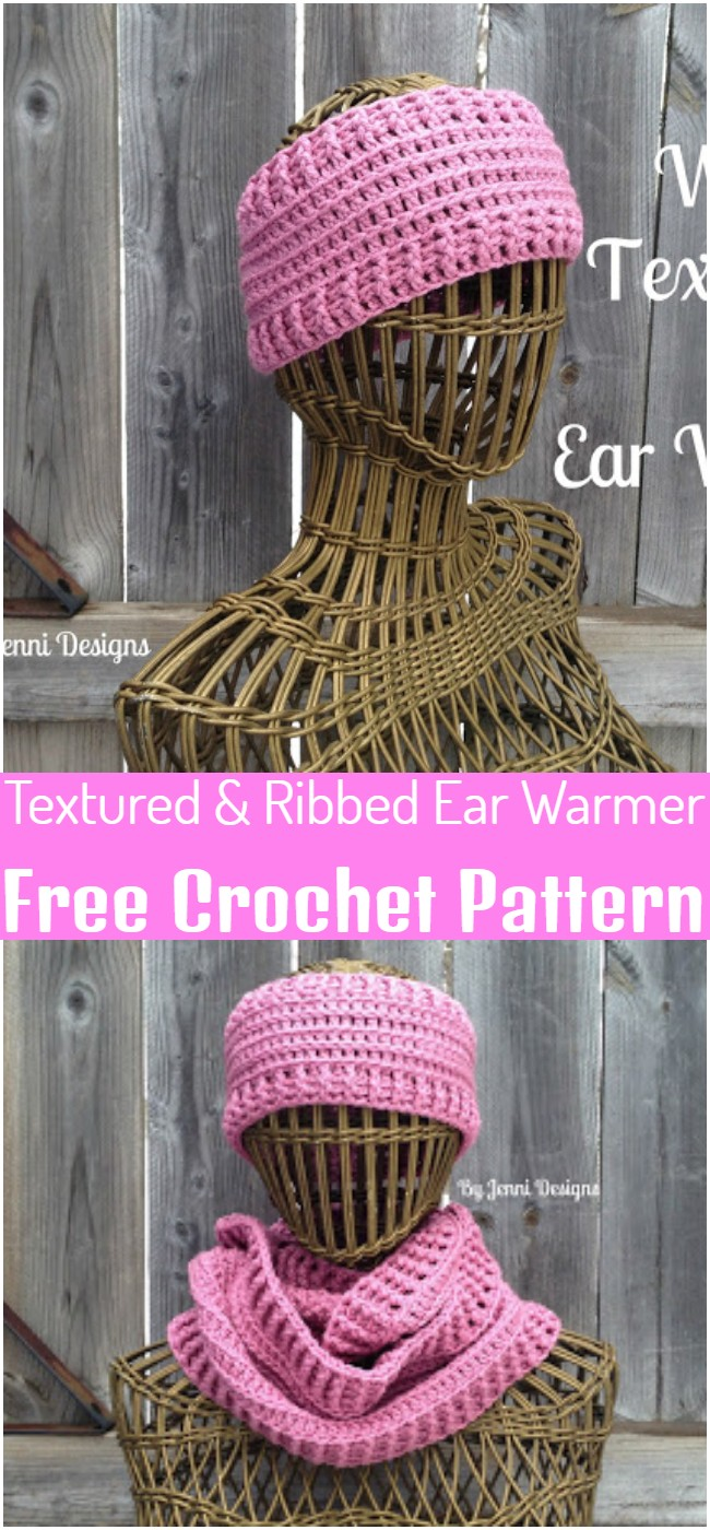 Textured & Ribbed Pattern
