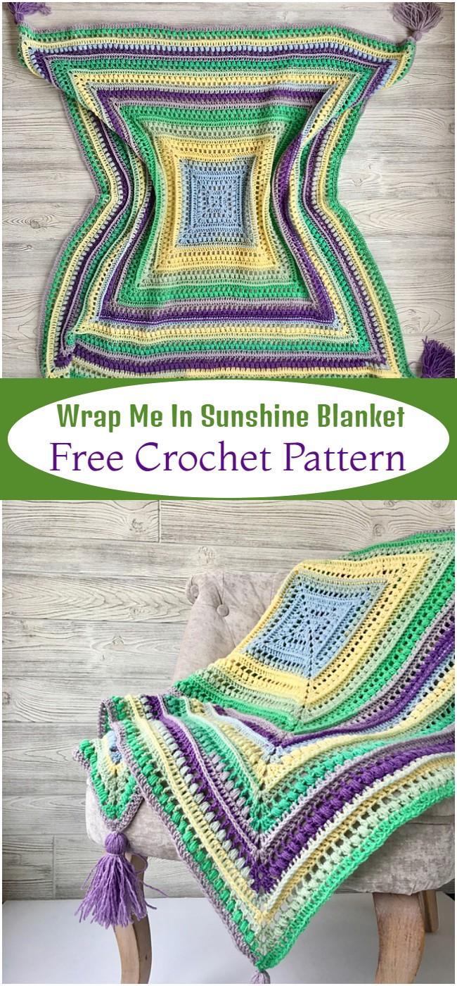 Wrap Me In Sunshine  Pattern