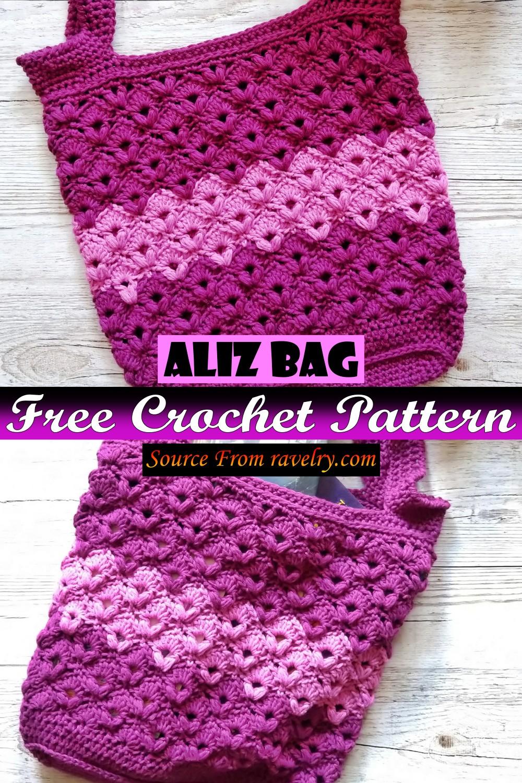 Free Crochet Aliz Bag Pattern