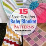 15 Free Crochet Baby Blanket Patterns