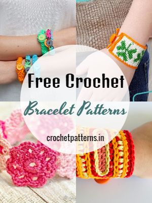 Free Crochet Bracelet Patterns