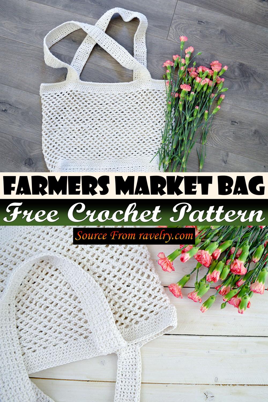 Free Crochet Farmers Market Bag Pattern