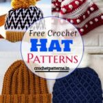 Adorable And Stunning Free Crochet Hat Patterns