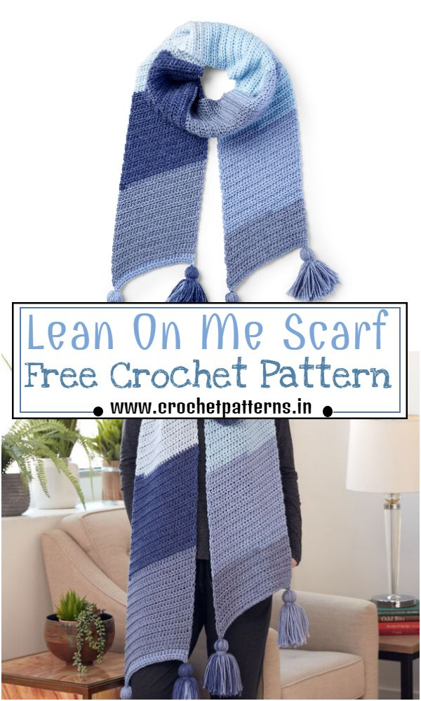 Free Lean On Me  Pattern