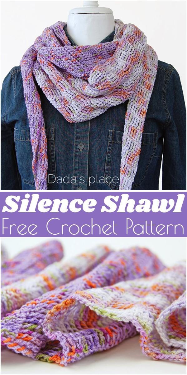 Free Crochet Silence Shawl Pattern