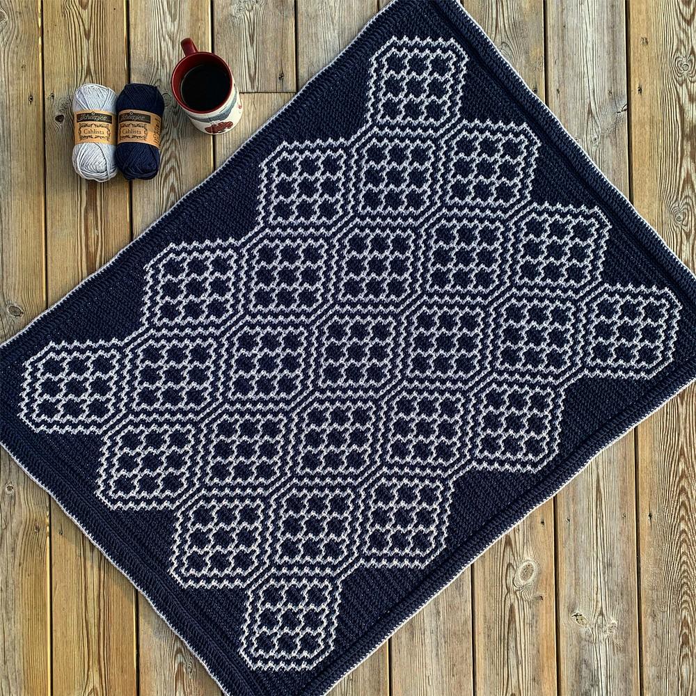 Free Crochet The Navigator Baby Blanket