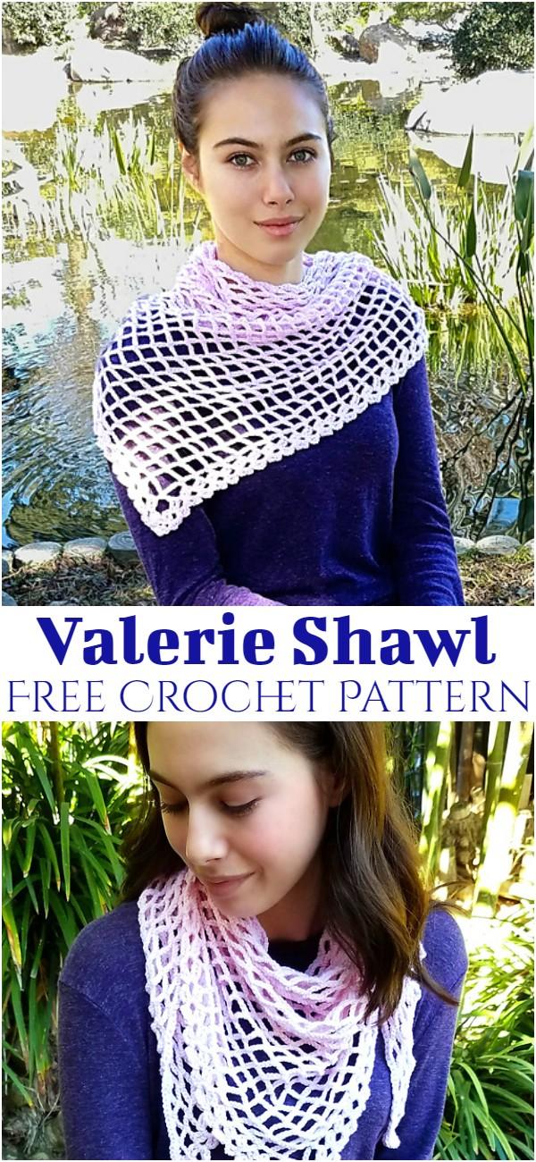 Free Crochet Valerie Shawl Pattern