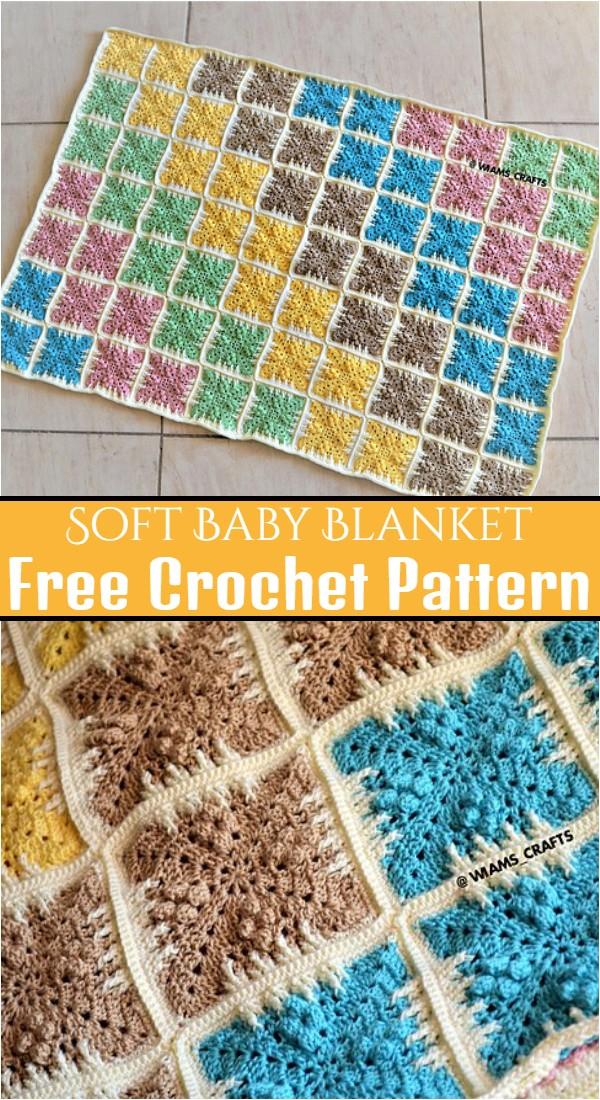 Soft Baby Blanket Free Crochet Pattern