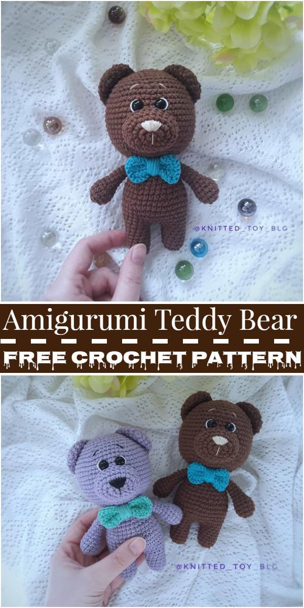 Amigurumi Teddy Bear Free Pattern