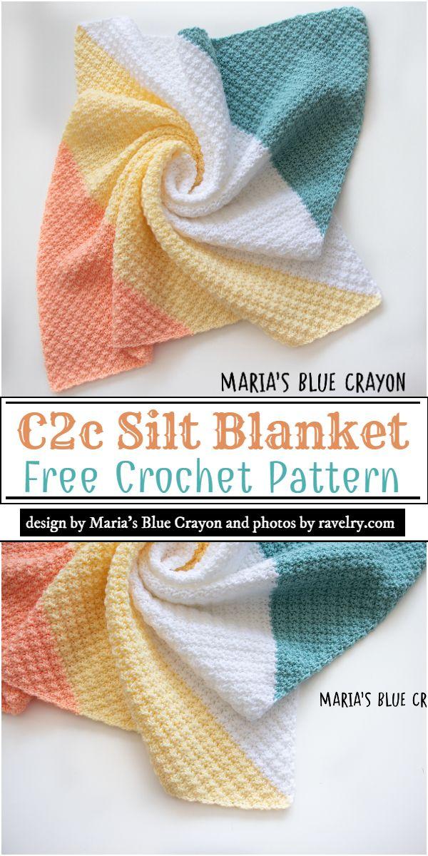 C2c Silt Blanket Crochet Pattern