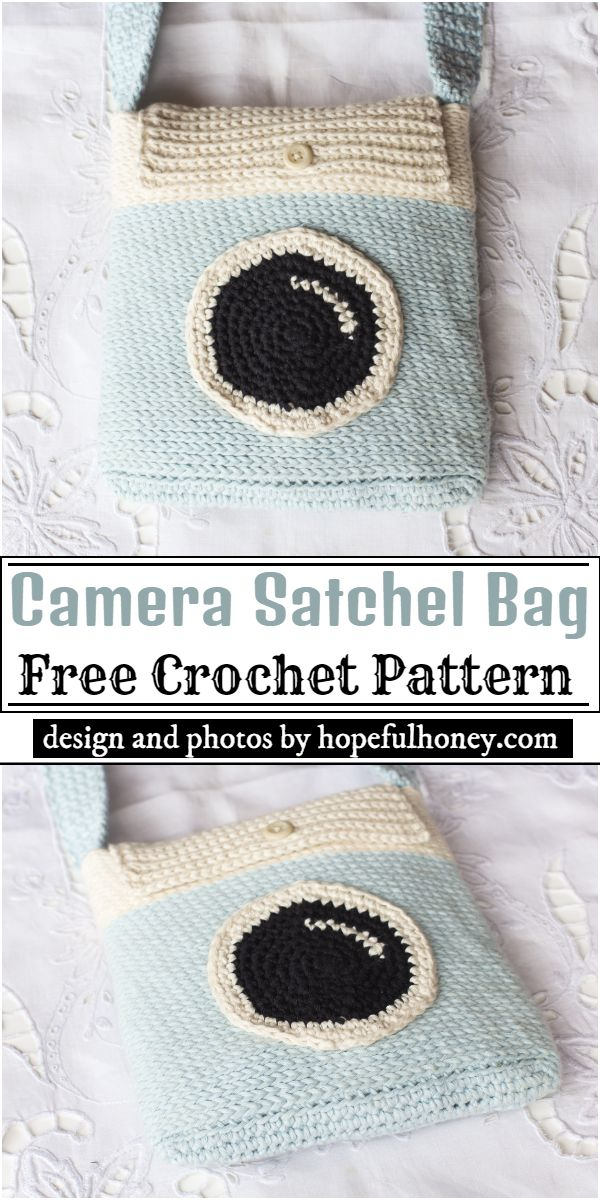 Camera Satchel Bag Crochet Pattern