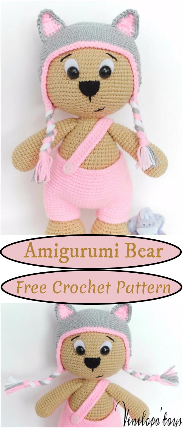 Crochet Amigurumi Bear Pattern