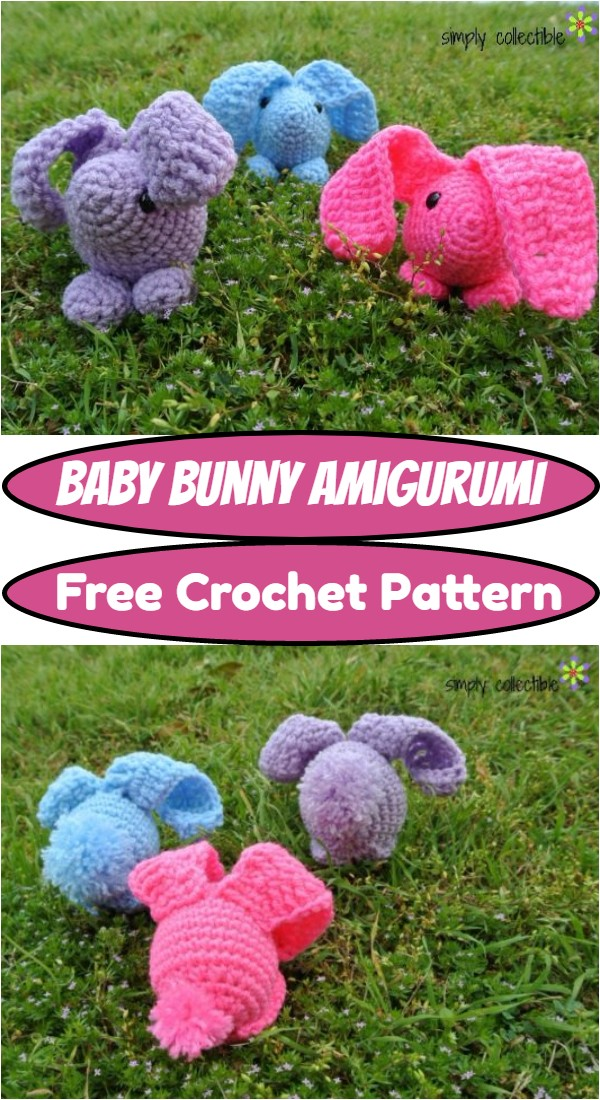 Crochet Baby Bunny Amigurumi Pattern