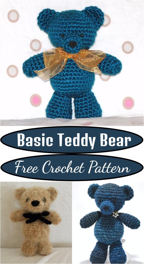 Crochet Basic Teddy Bear Pattern