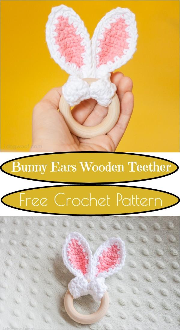 Ears Wooden Teether