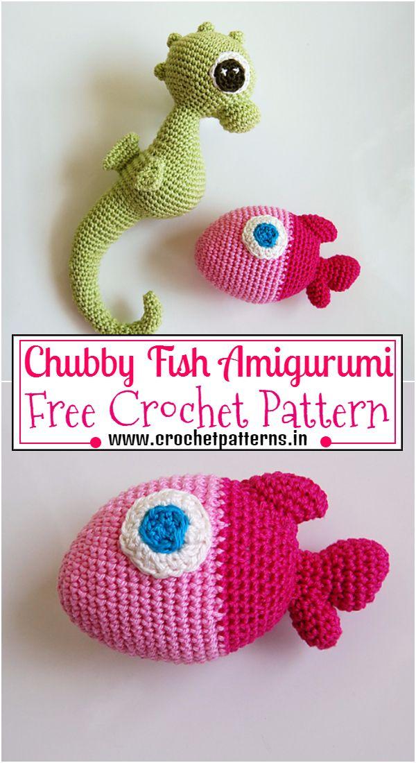 Crochet Chubby Fish Amigurumi Pattern