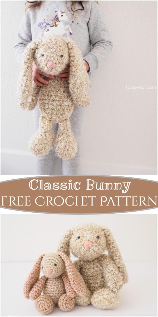 Crochet Classic Bunny Pattern