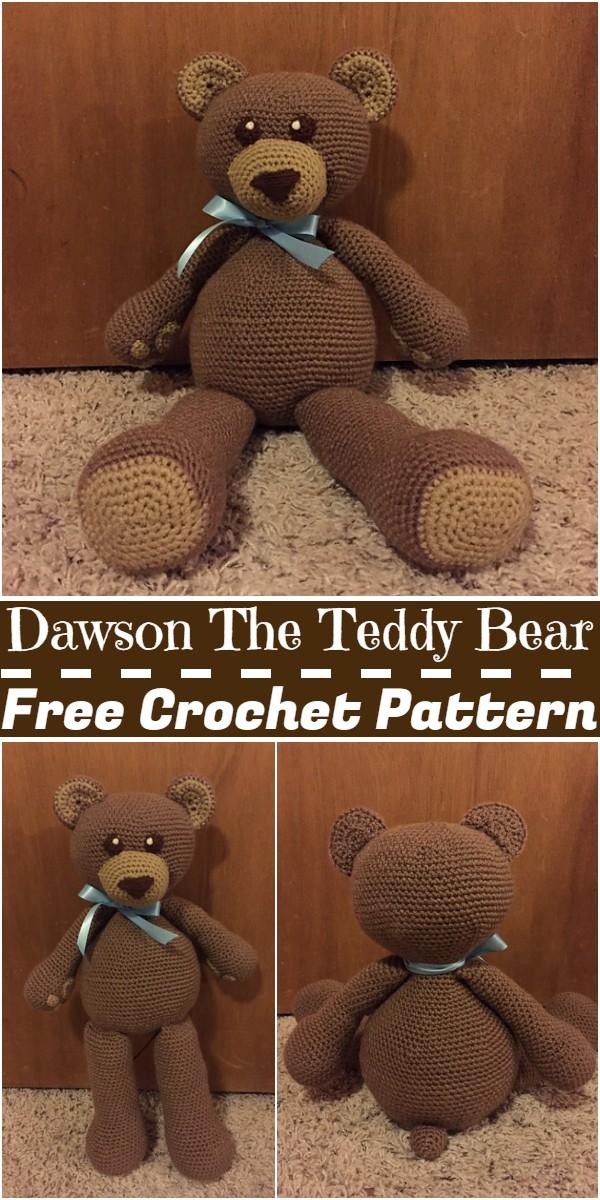 Crochet Dawson The Teddy Bear Pattern