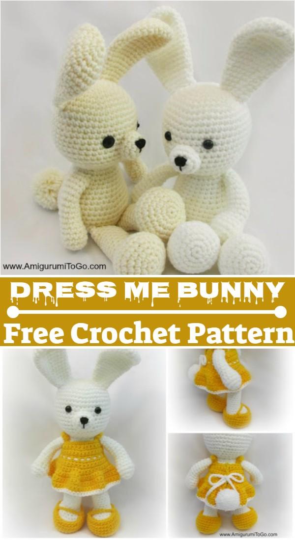 Crochet Dress Me Bunny Pattern