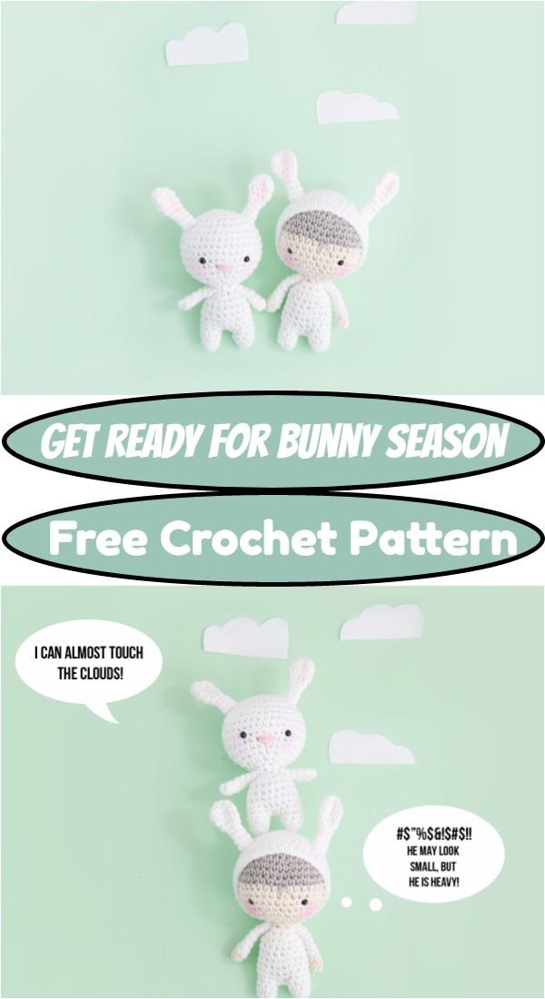 Crochet Get Ready For Bunny Season Pattern