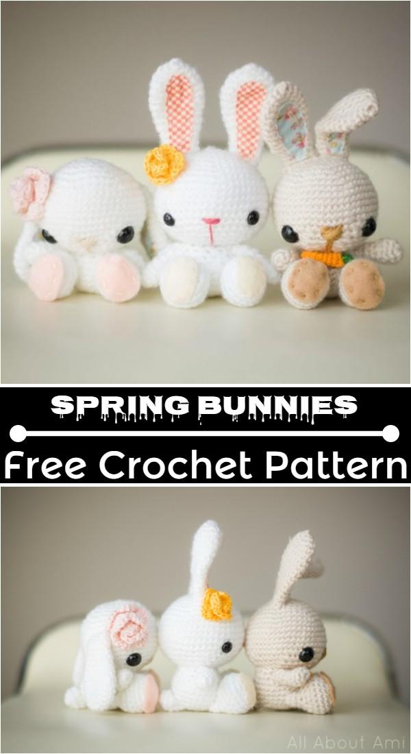 Crochet Spring Bunnies Pattern