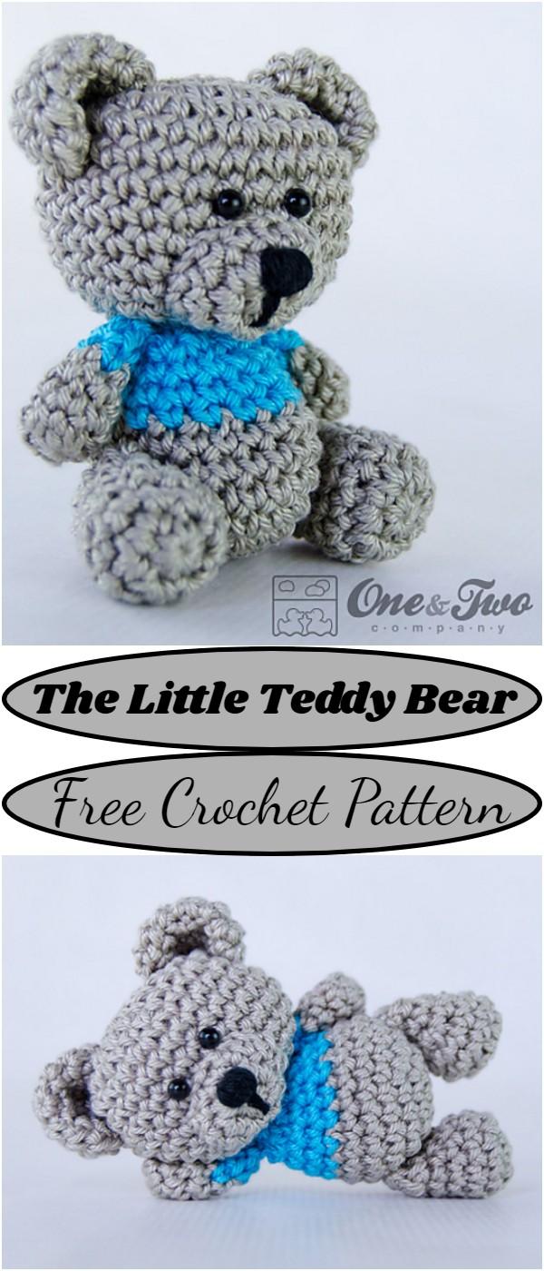 Crochet The Little Teddy Bear Pattern
