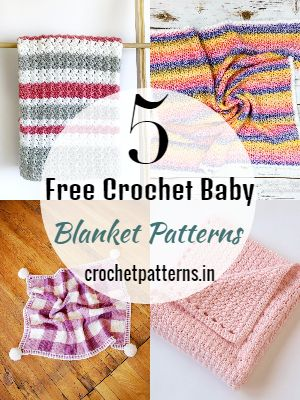 Free Crochet Baby Blanket Patterns