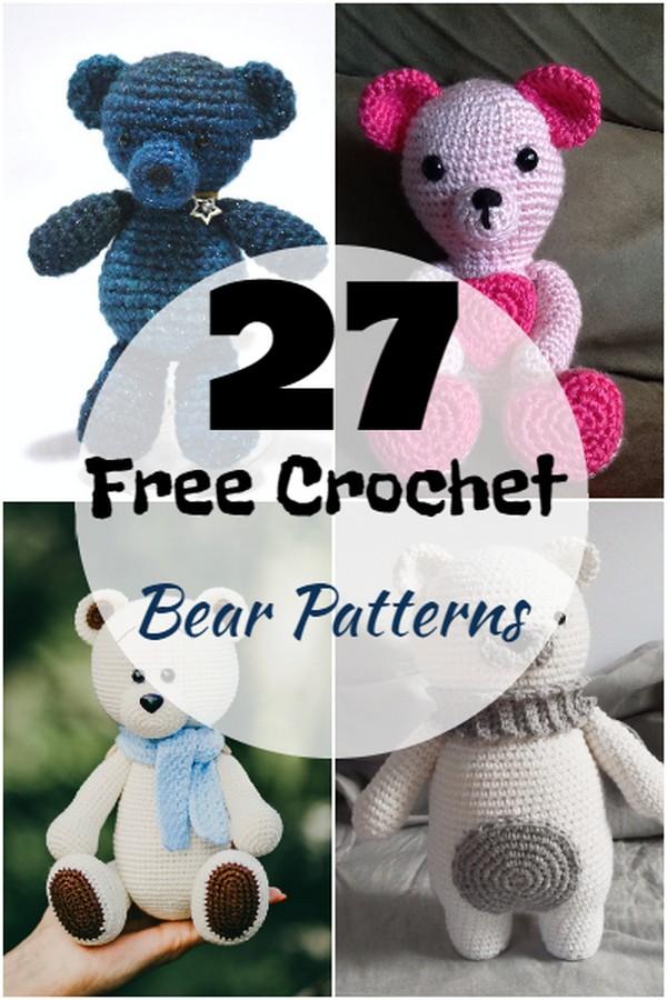 Free Crochet Bear Patterns