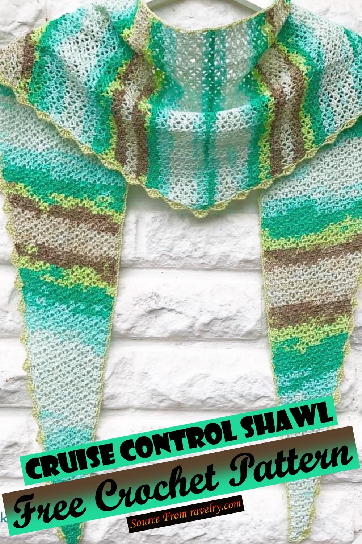 Free Crochet Cruise Control Shawl Pattern