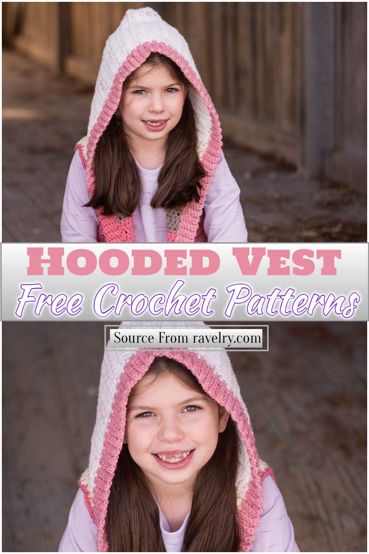 Free Crochet Hooded Vest Pattern