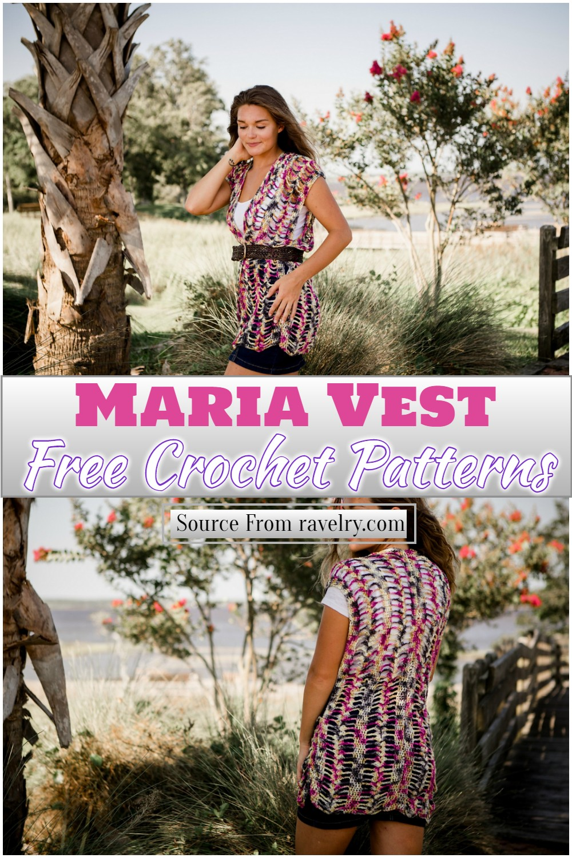 Free Crochet Maria Vest Pattern