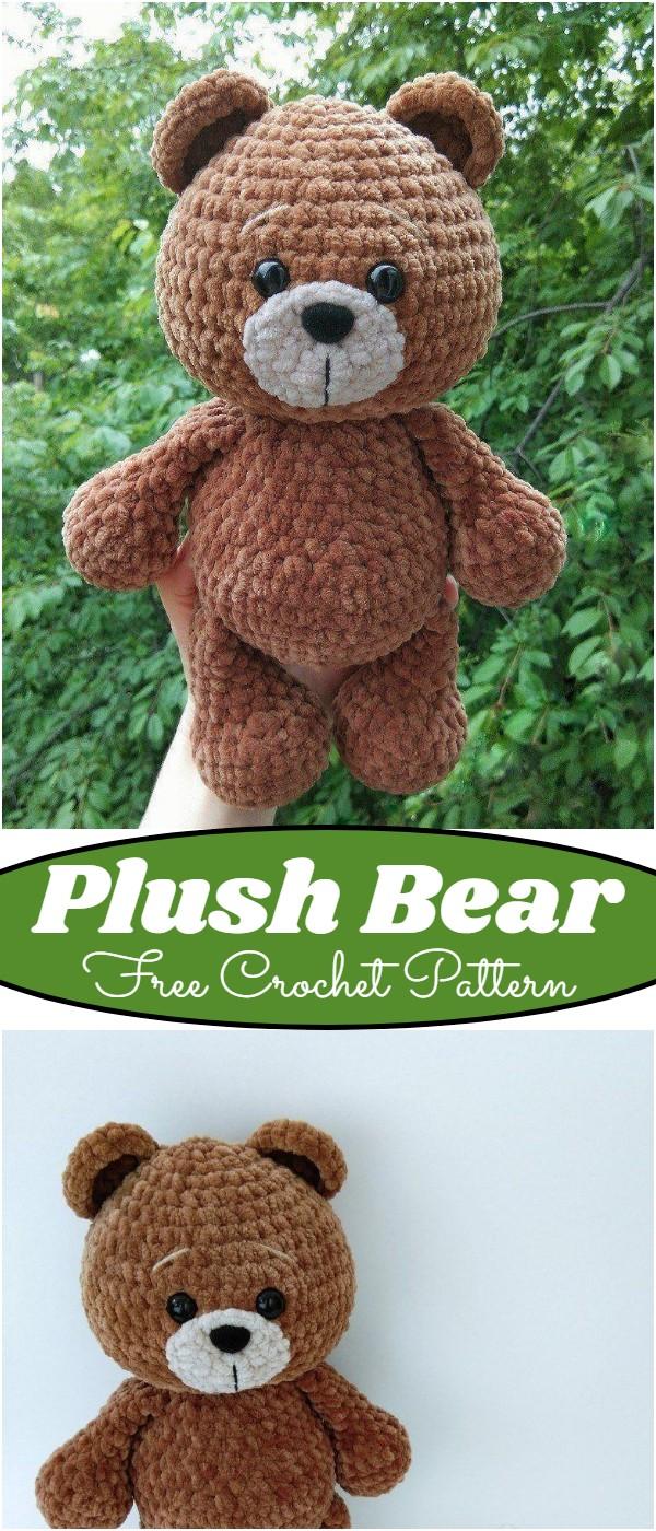 Free Crochet Plush Bear Pattern