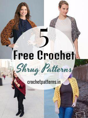Free Crochet Shrug Patterns