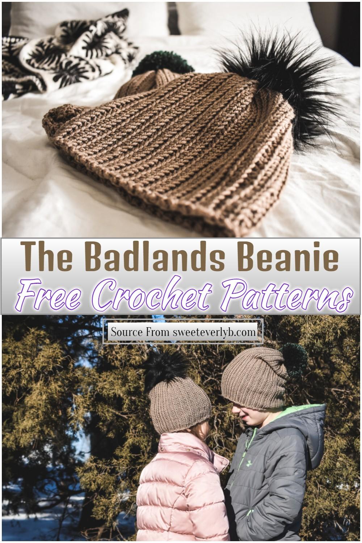 Free Crochet The Badlands Beanie Pattern 1