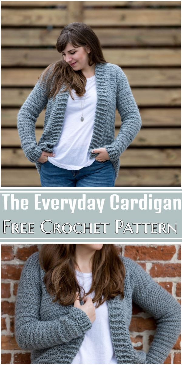 Free Crochet The Everyday Cardigan Pattern