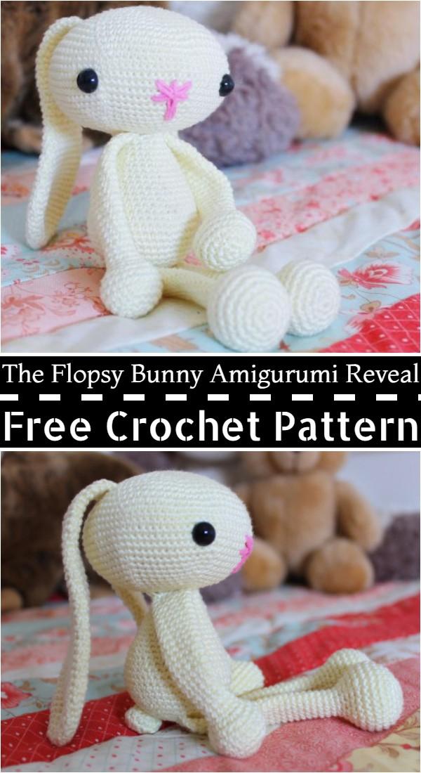 Free Crochet The Flopsy Bunny Amigurumi Reveal Pattern
