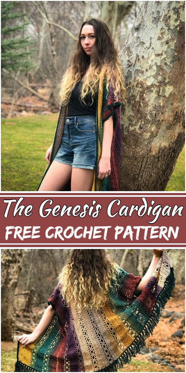 Free Crochet The Genesis Cardigan Pattern