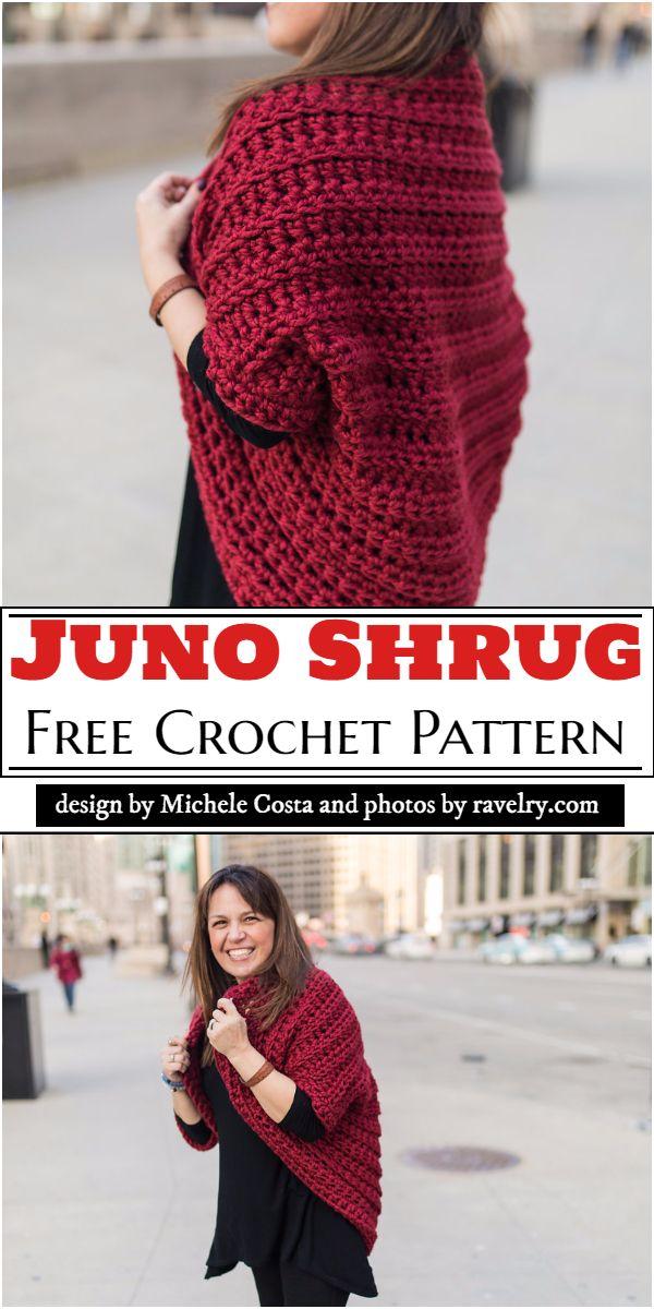 Juno Shrug Crochet Pattern