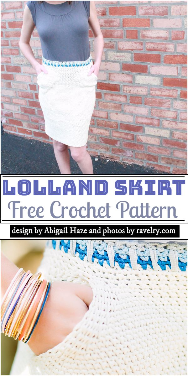 Lolland Skirt Crochet Pattern