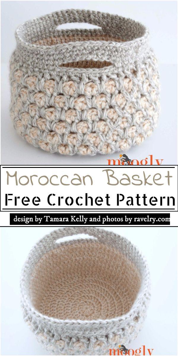 Moroccan Basket Crochet Pattern