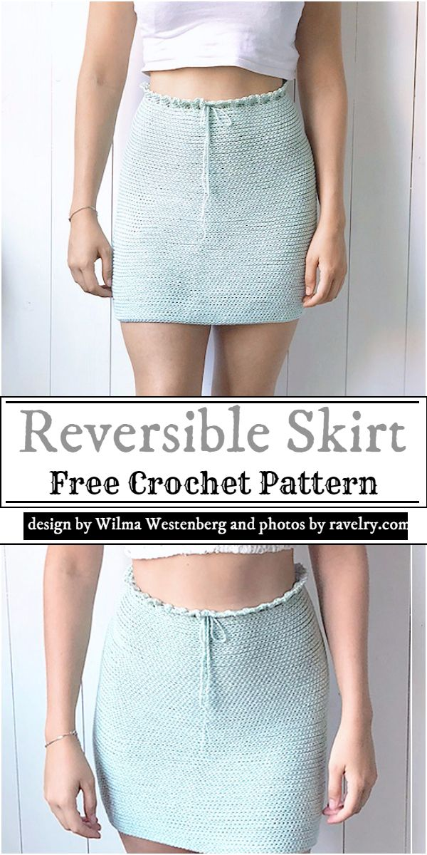 Reversible Skirt Crochet Pattern