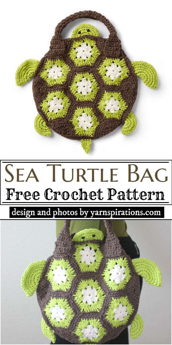 Sea Turtle Bag Crochet Pattern