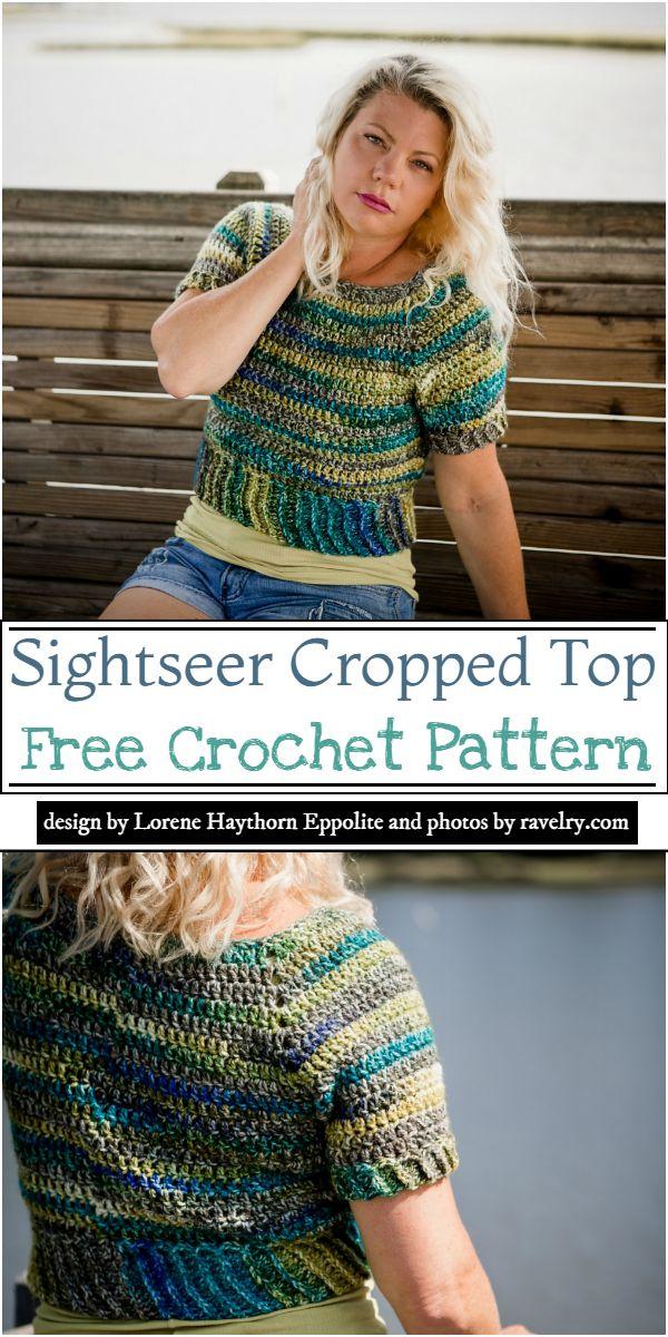 Sightseer Cropped Top Crochet Pattern