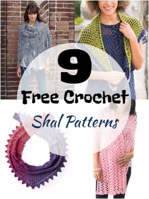 Unique Free Crochet Shawl Patterns