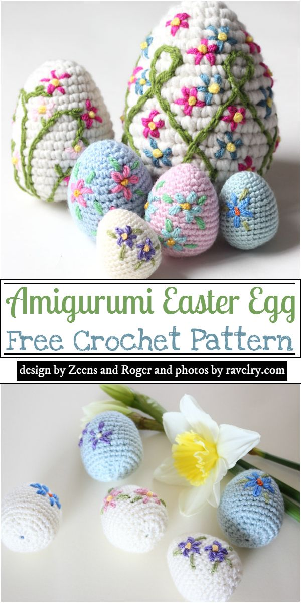 Amigurumi Easter Egg Crochet Pattern