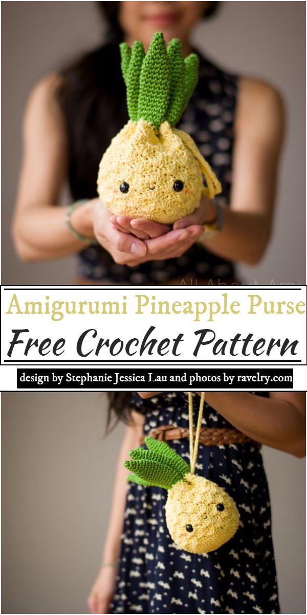 Amigurumi Pineapple gift for your baby